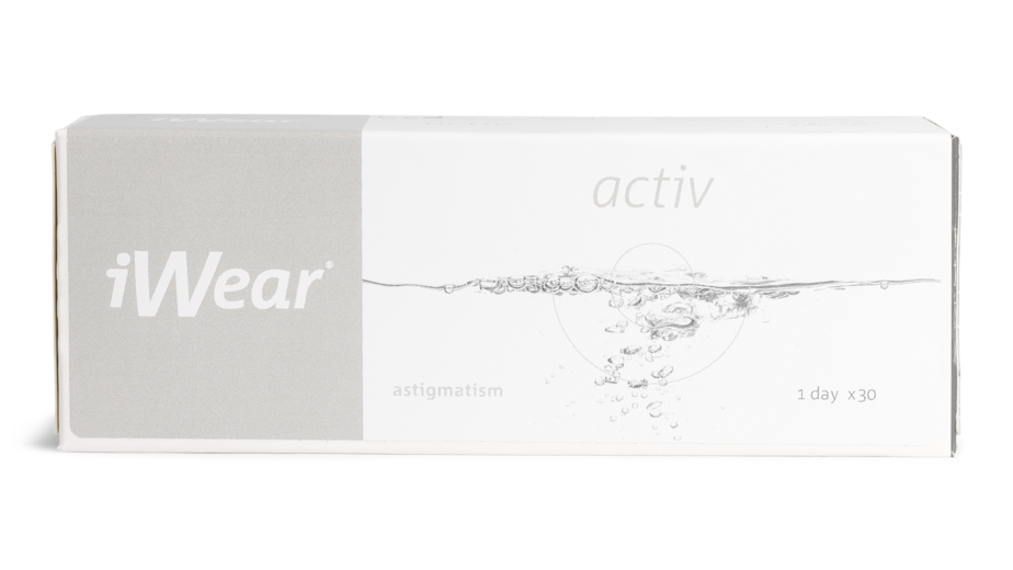 Front iWear Activ for Astigmatism