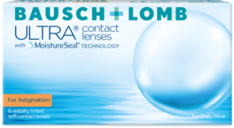 Front Bausch + Lomb Ultra for astigmatism