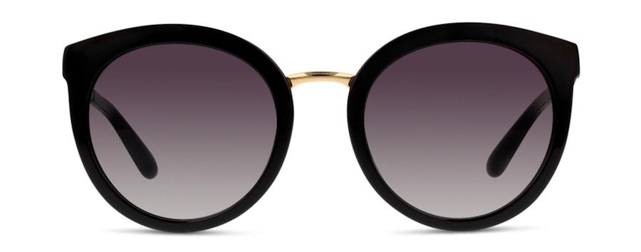 Dolce & Gabbana DG4268 501/8G Cinza/Preto e Dourado