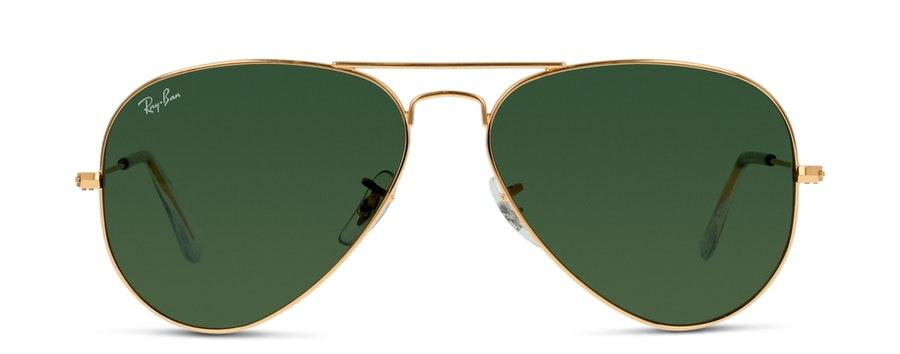 Ray-Ban RB3025 L0205 Verde/Dourado