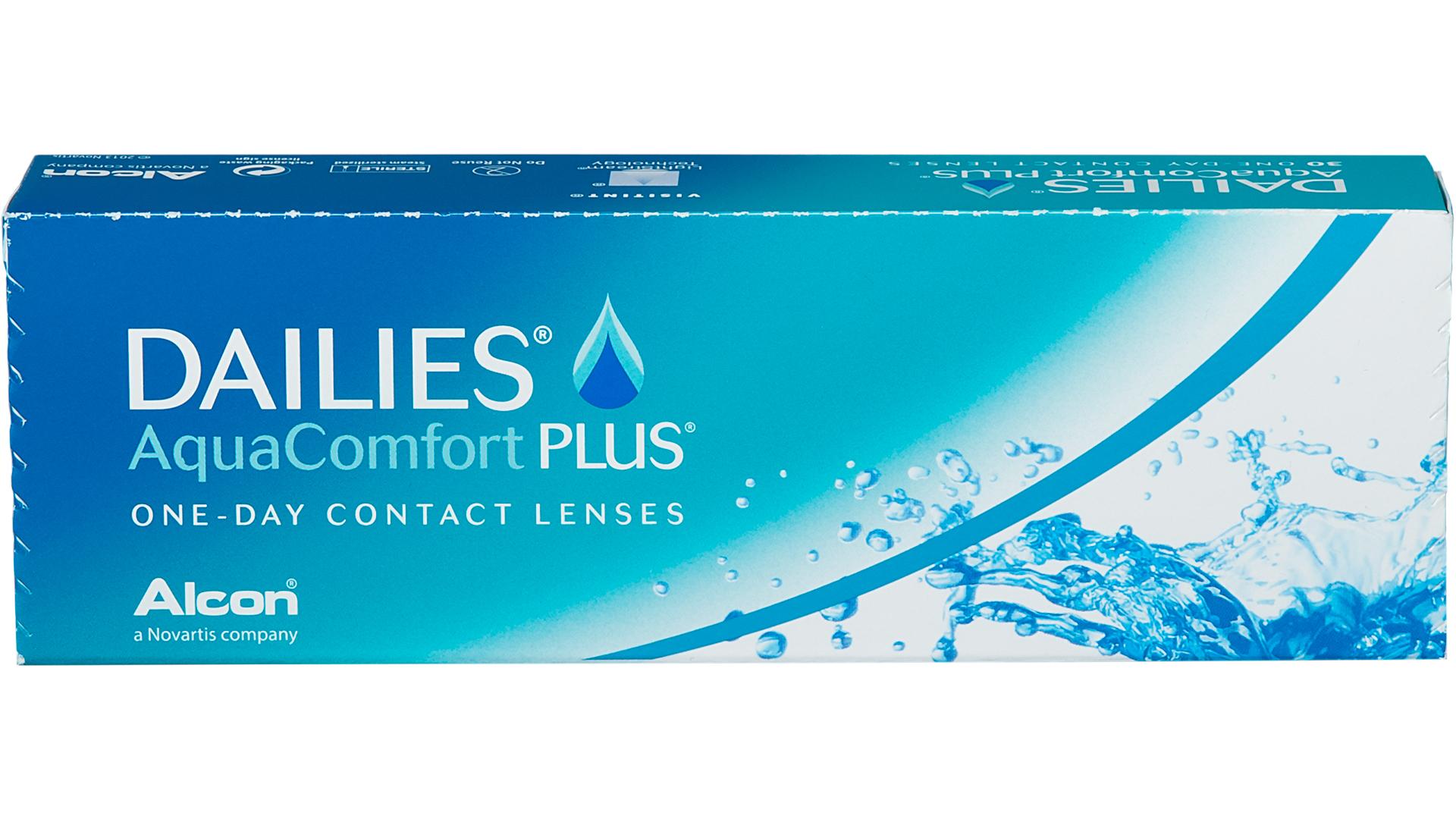 Front Dailies Aqua Comfort Plus