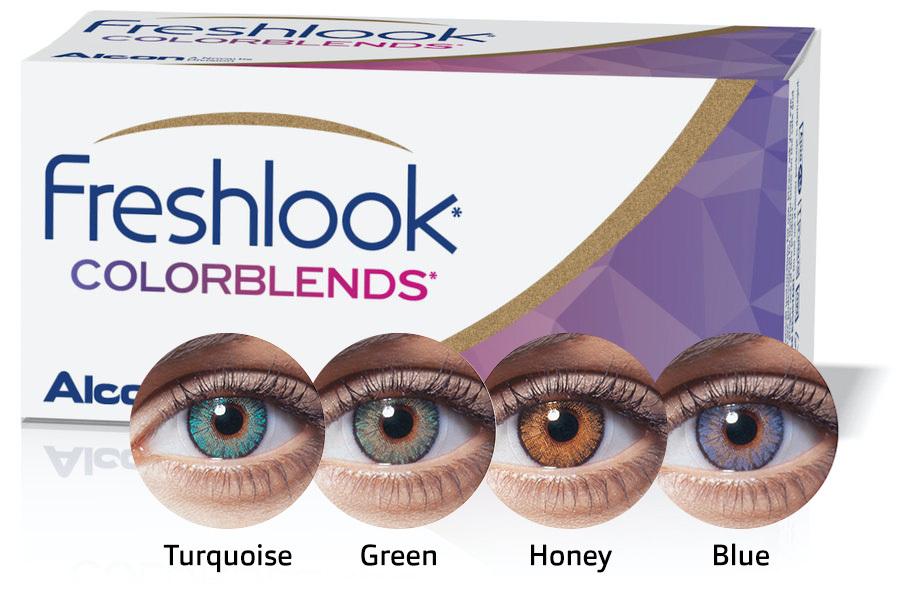 Front Freshlook Colorblends