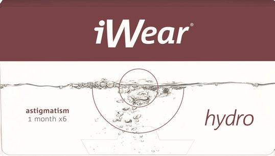 iWear hydro astigmatism