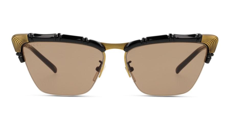 Gucci GG0660S 001 Brown/Preto e Dourado