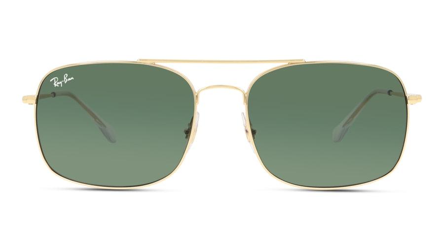 Ray-Ban RB3611 001 Green/Dourado