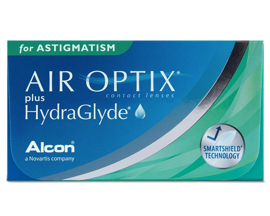 Front Air Optix Hydraglyde Astigmatism
