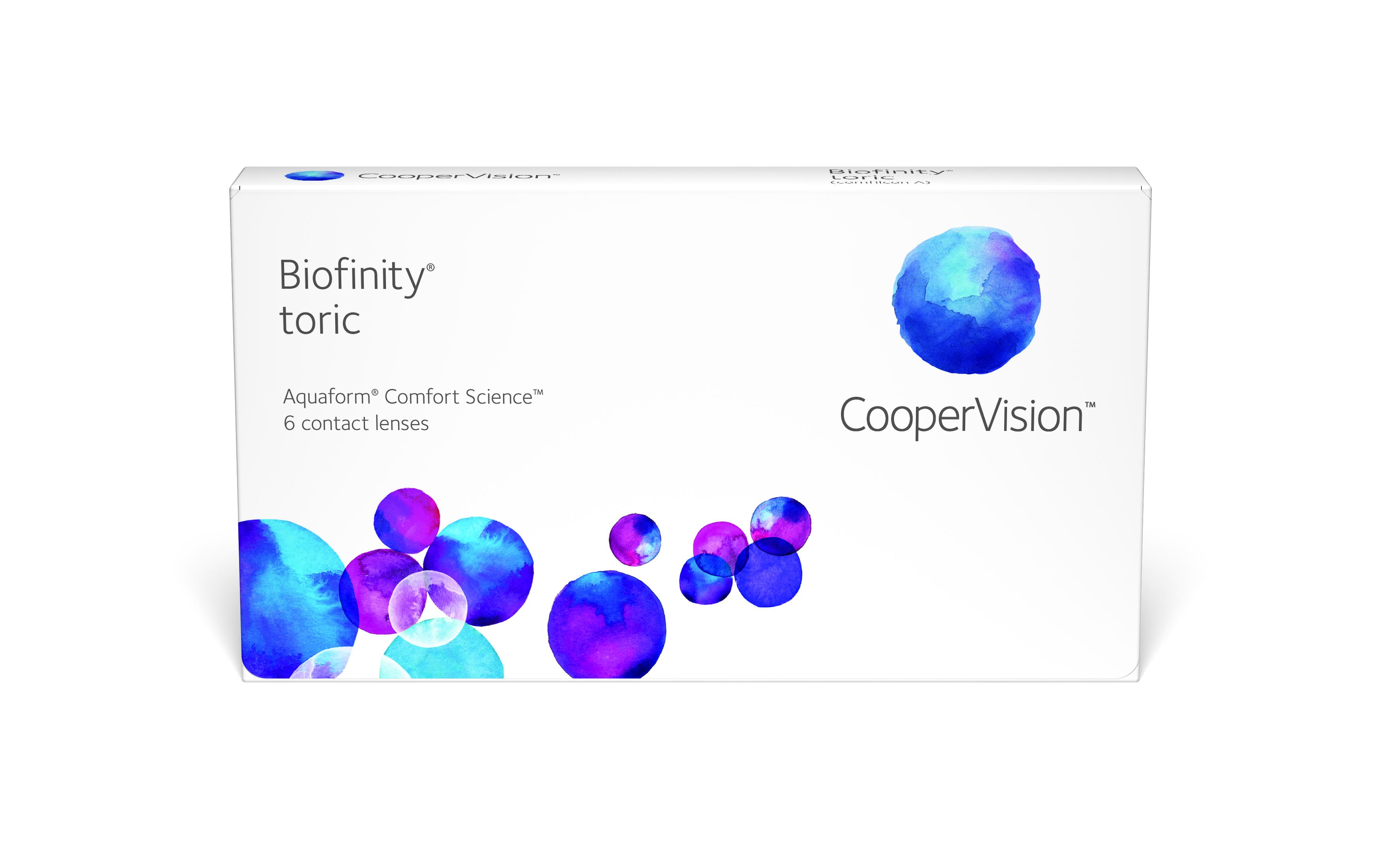 Front Biofinity Toric