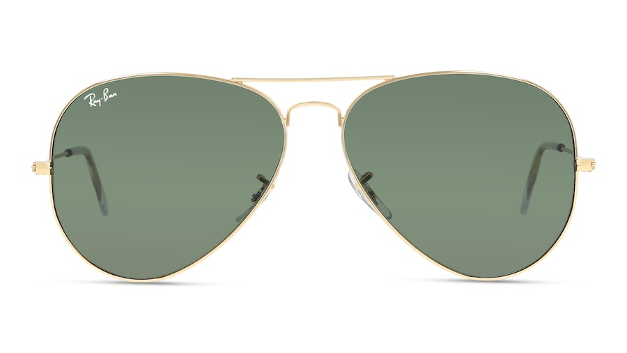 Ray-Ban AVIATOR LARGE METAL 0RB3025 1 GREEN/GULD