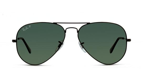 AVIATOR 002/58 GREEN / SVART
