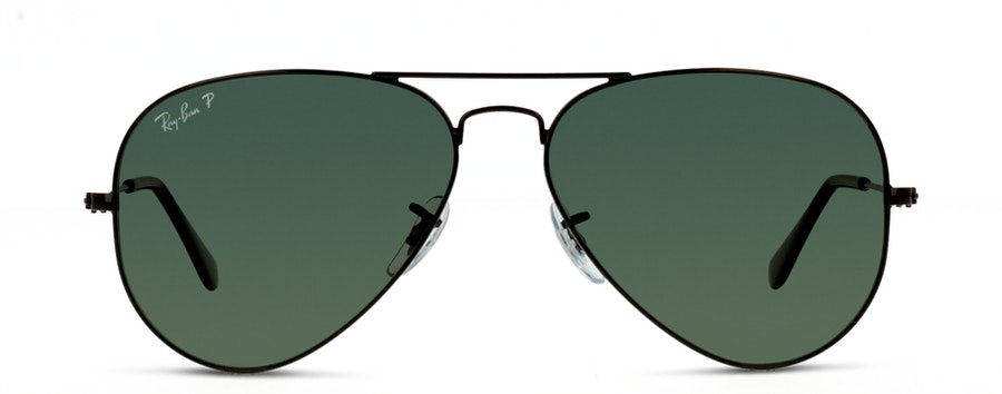 Ray-Ban AVIATOR 002/58 GREEN/SVART
