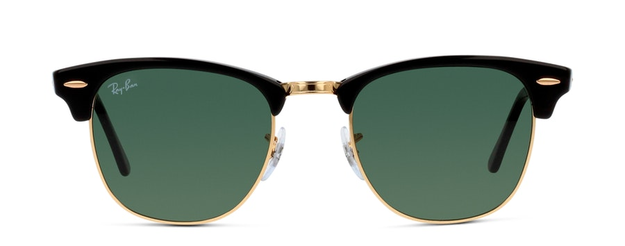Ray-Ban CLUBMASTER 0RB3016 W0365 SVART