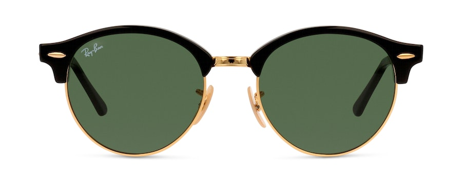 Ray-Ban CLUBROUND 0RB4246 901 GREEN/SVART