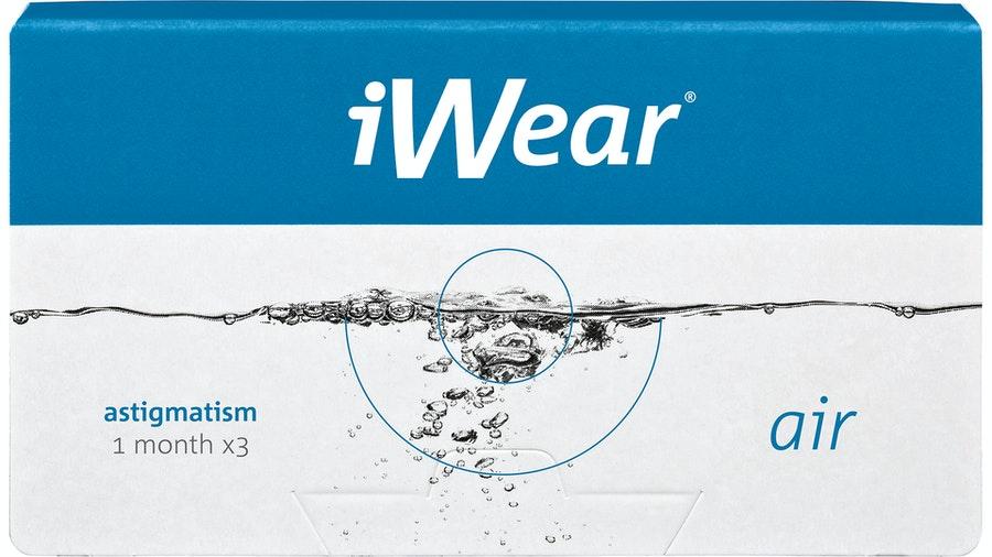 iWear air astigmatism